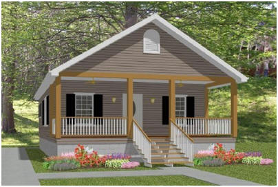 Small Cottage House Plans with Porches Simple Small House Floor Plans