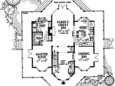 Tiny victorian house plans victorian house floor plans for Old style victorian house plans