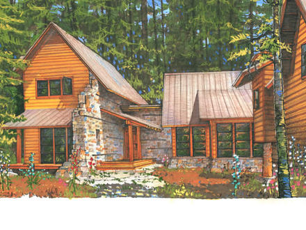 Custom home shell kit only small cabin shell kits cottage for Cabin kits california