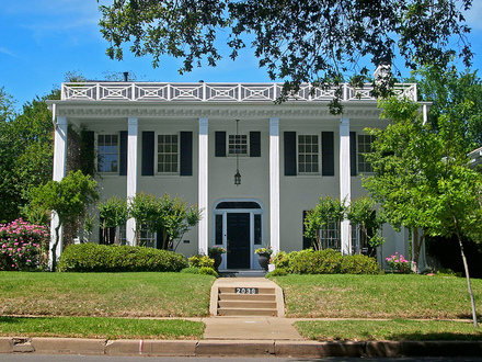 Federal Style House Southern Colonial Style House