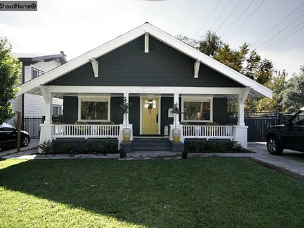 Classic craftsman bungalow california craftsman bungalow for Craftsman classic