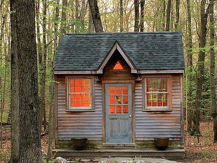 Cute Tiny House in the Woods Cute Tiny House On Wheels