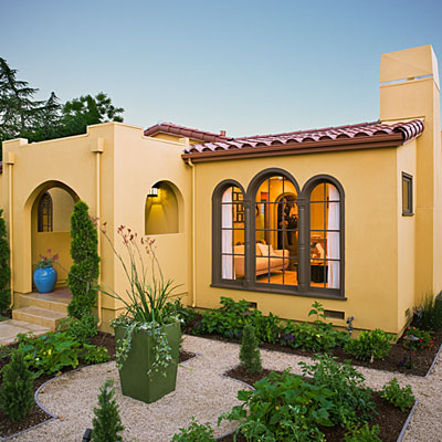 Small Spanish Style House Plans Small Spanish Style House with Courtyard