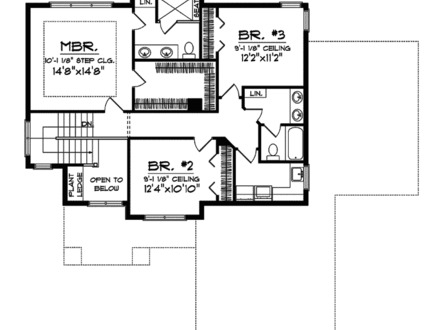 4 bedroom farmhouse floor plans 4 bedrooms gaborone for Utah home design plans