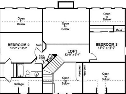 Small Two Bedroom House Plans Small House Floor Plans with Loft