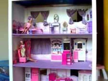 Barbie Doll House Plans to Build Homemade Barbie House Plans