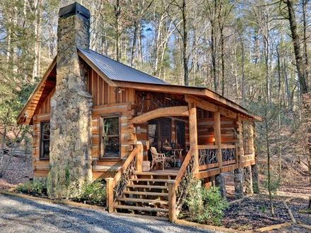 Small Mountain Cabin Small Log Cabin Georgia