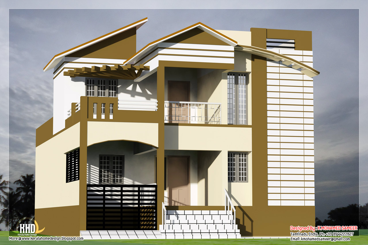 Best indian house designs south indian house designs for Best home designs india