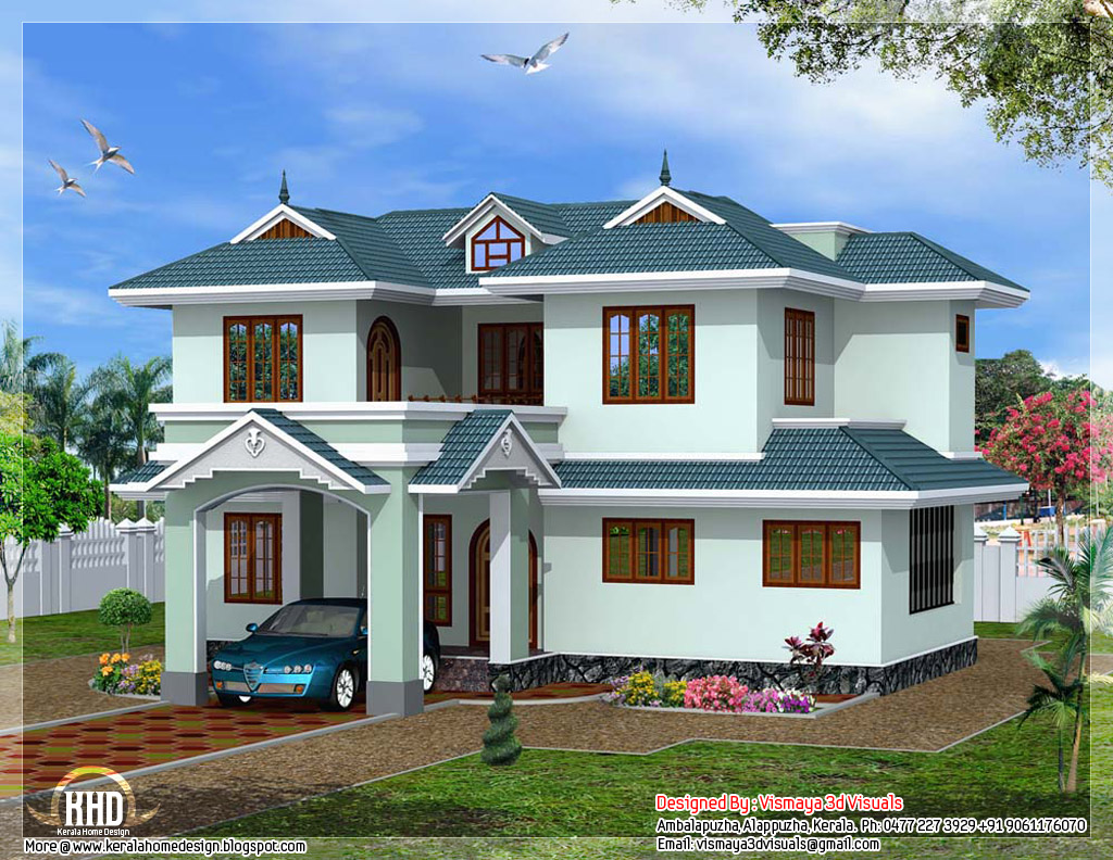 Kerala style villa kerala beautiful houses inside villa for Beautiful houses inside