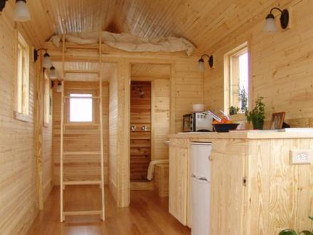 Tiny Houses On Wheels Floor Plans Tiny House On Wheels Interior Loft