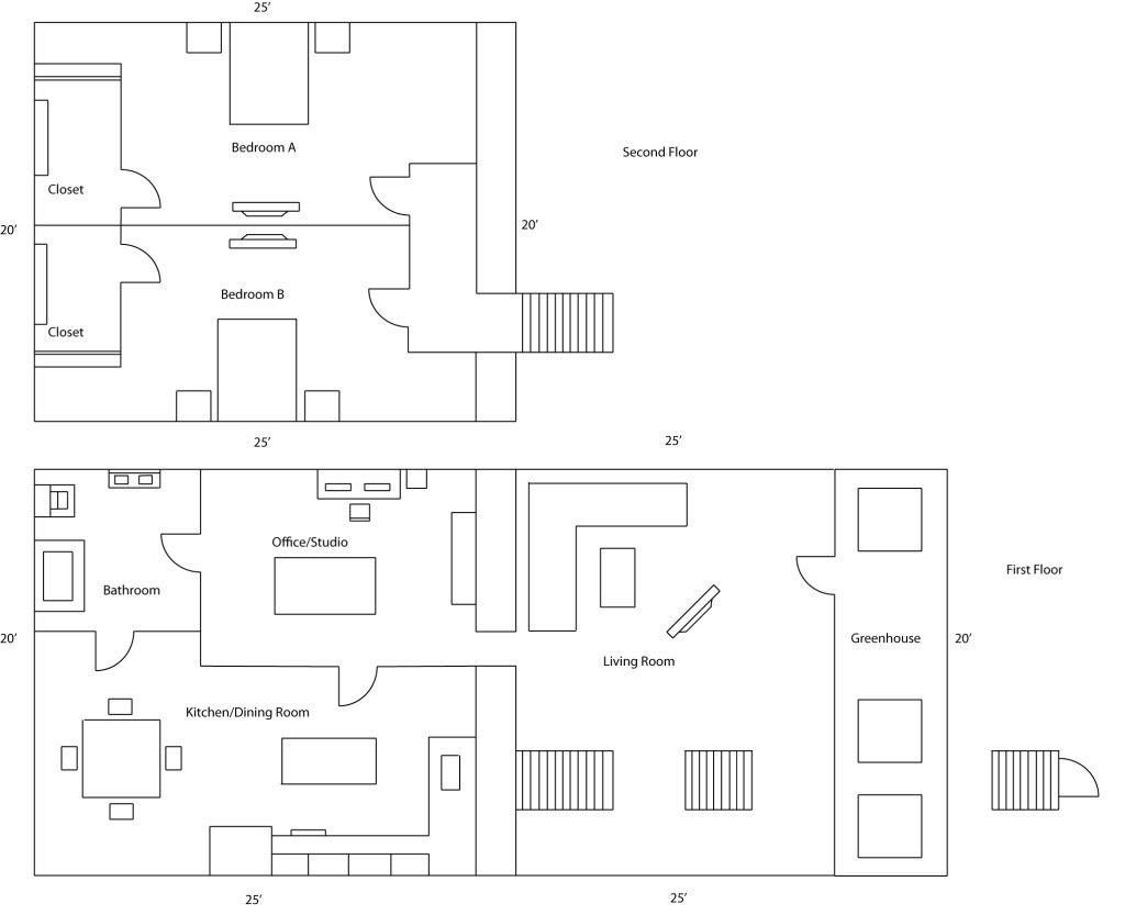 Eco House Plans Ranch eco house plans DIY Green Energy Projects