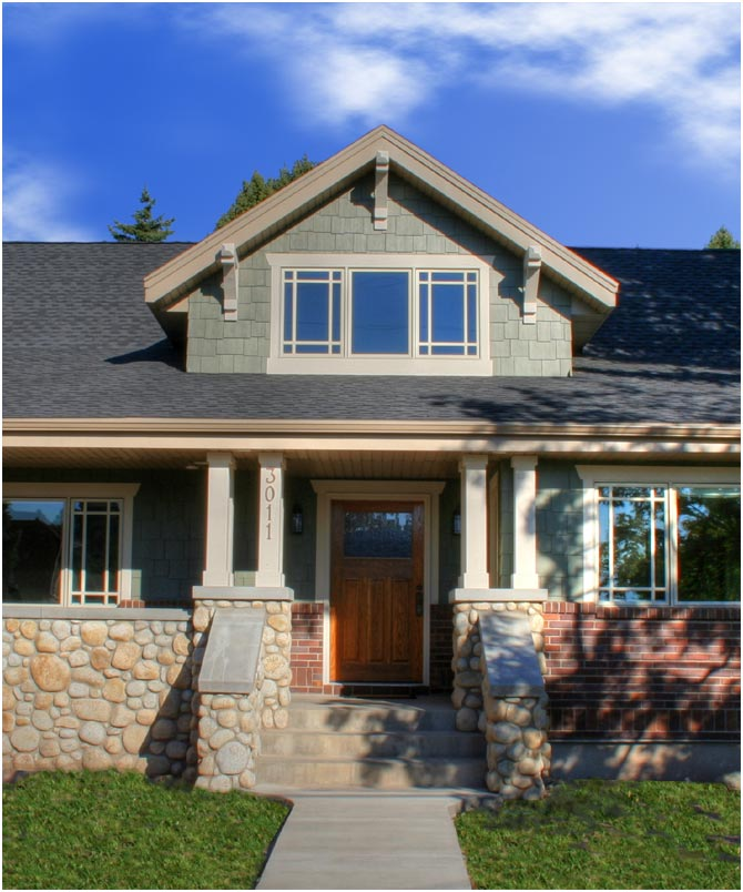 Craftsman House Plans Ranch Style: Ranch Style Homes Craftsman Craftsman Style Bungalow