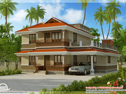 Kerala Model House Design Kerala Home Design