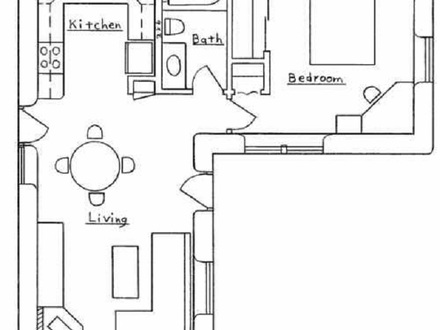 L shaped House Floor Plans Small L-shaped Houses