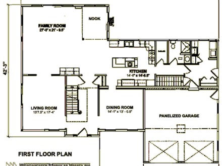 2 story colonial house plans one story colonial homes for Two story colonial house plans