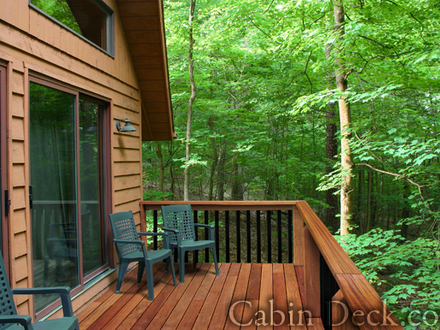 Cabin Deck Lakeside Decks