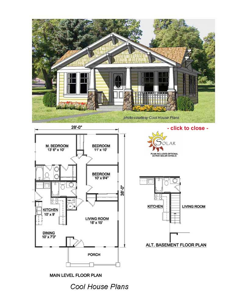 Arts and crafts bungalow floor plans american craftsman for Chicago style bungalow floor plans