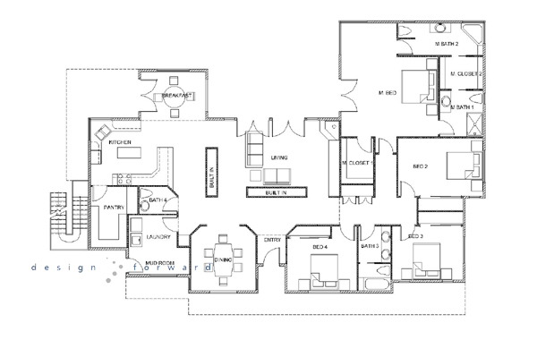 AutoCAD Drawing House Floor Plan House AutoCAD Designs