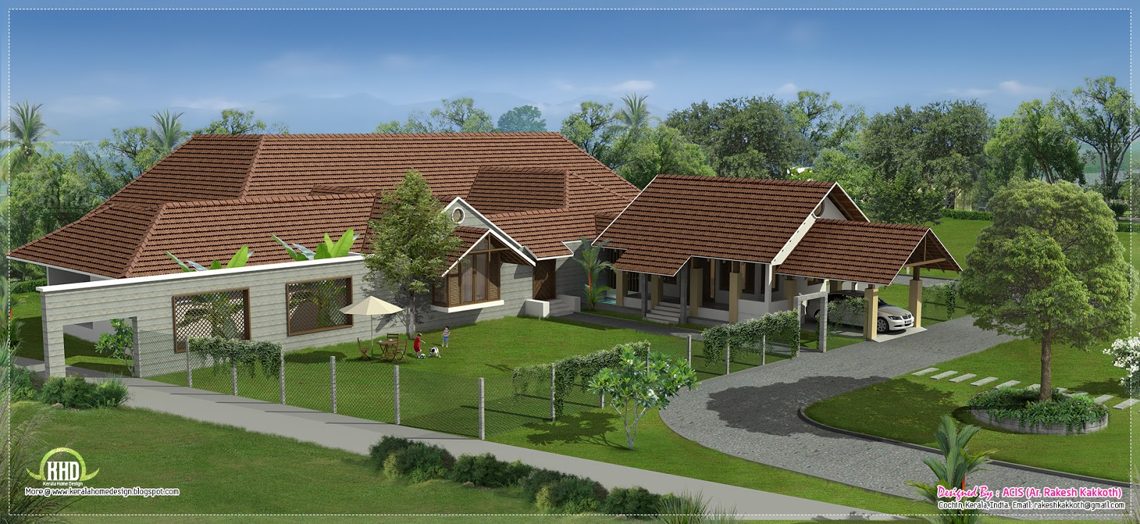 Courtyard u shaped house plans luxury bungalow house plans for U shaped house plans