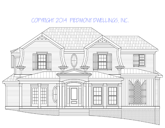 Historical house plans parkview house plan historical for Parkview homes floor plans