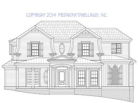 Historic house plans southern house plans historical home for Parkview homes floor plans