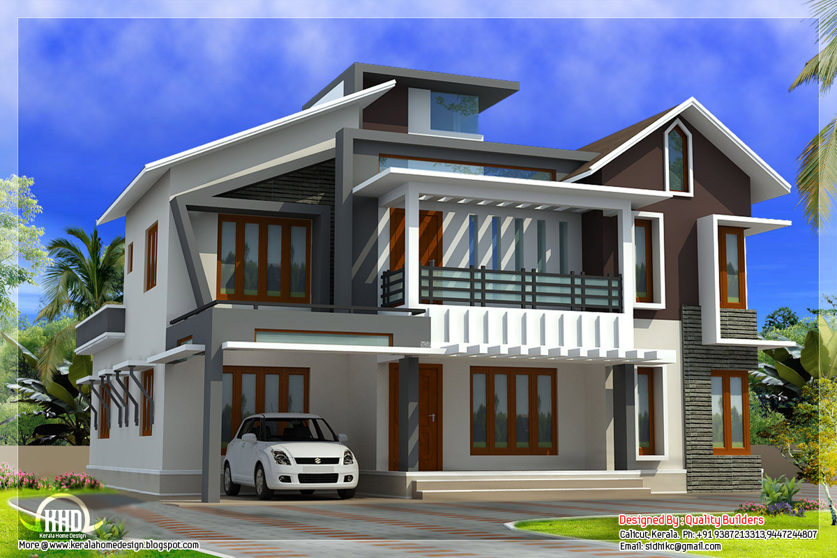 New Contemporary Unique House Plans Modern Contemporary ...