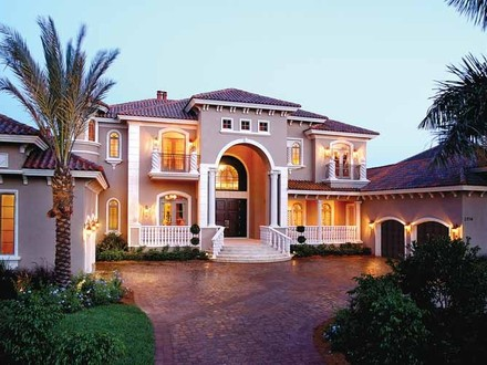 Ranch Style Homes with Porches Mediterranean Style Home Plans