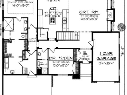 Vintage house plan english cottage house plans 1900 house for 1900 square foot house plans