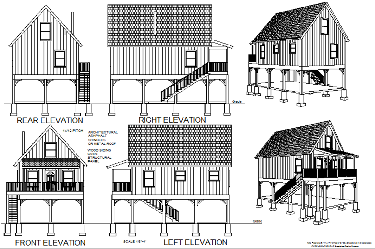Free small cabin plans inexpensive small cabin plans for Small cheap cabin plans