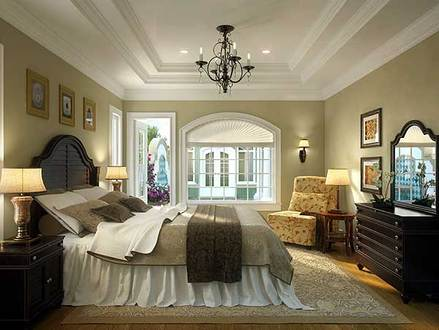 Romantic Luxury Master Bedroom Southern Traditional Master Bedroom