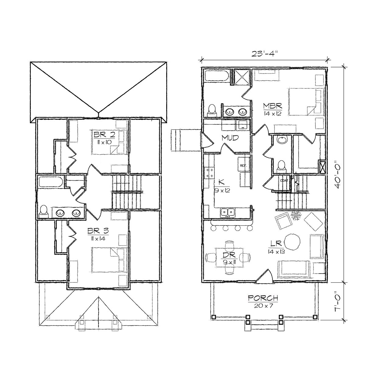 Simple House Designs Philippines Bungalow House Designs and Floor Plans