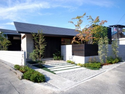 One Story Modern House Exterior One Story Modern Home Design