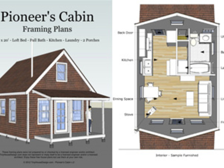 Small Cabins Tiny Houses Tiny Houses Design Plans
