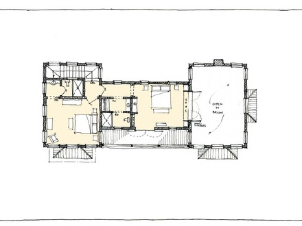 Small Guest House Floor Plans Small Guest House with Loft