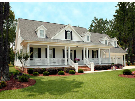 Southern Farmhouse Style House Plans Southern House Plans Farmhouse-Style