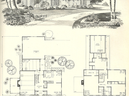 Vintage colonial house plans vintage sears house plans for Antique colonial house plans