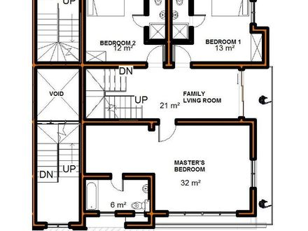 5 bedroom house plans maisonette house plans kenya for 4 bedroom maisonette house plans kenya