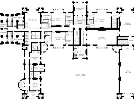 Old Victorian House Plans Victorian Mansion Floor Plans