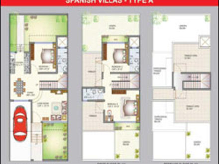 Spanish Villa House Plans Spanish Courtyard House Plans