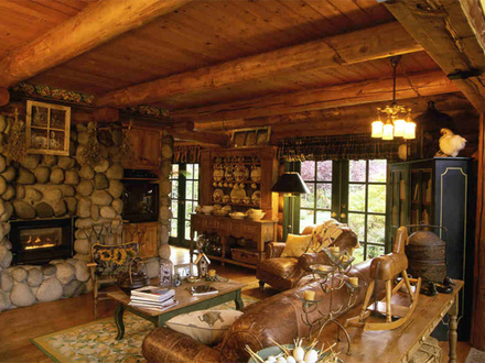 Log Cabin Interior Design Ideas Log Cabin Kitchens