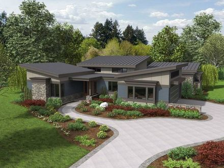 Modern Ranch House Plans Small Contemporary Ranch House Plans
