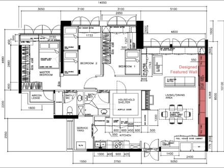 7756df5103b7dcf5 Small House Floor Plans House Floor Plan Design on studio kitchen design ideas