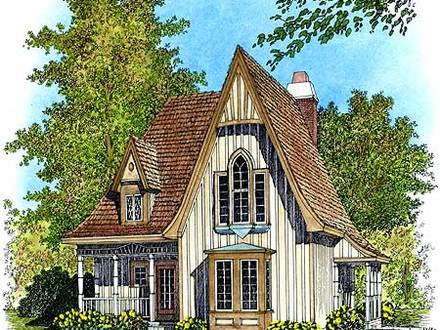 Sugarberry cottage house plans southern cottage house for Eric moser house plans