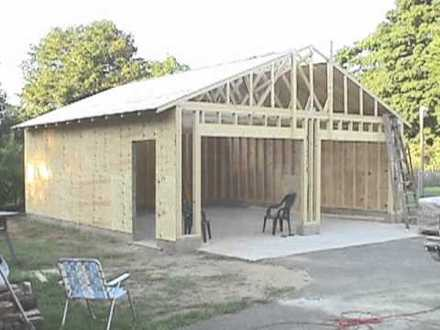 Build a Garage Yourself Building Your Own Garage