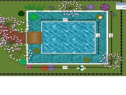 Make blueprints for gardens, houses, anything you can imagine I love Garden Blueprint Maker