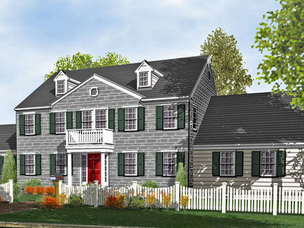 Completed frank betz homes frank betz colonial house plans for Colonial style homes for sale