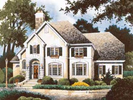 Southern style cottages old southern cottage style house for Old world cottage house plans