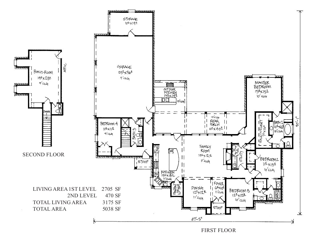 French country louisiana house plans french country house for Modern french country house plans