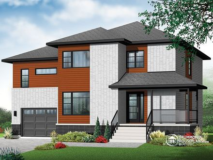 House Plans with Bedrooms Upstairs 2 Bedroom House Simple Plan