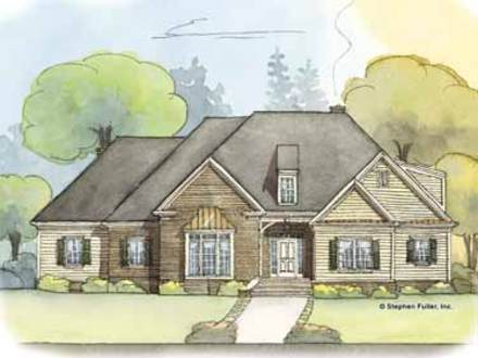 Simple house floor plan simple rectangle house floor plans for One story colonial house plans